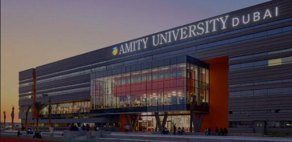 Amity University Dubai banner