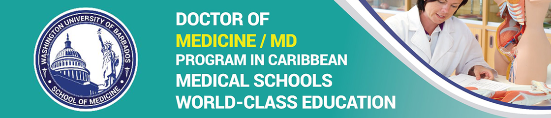 Washington University of Barbados: School of Medicine banner