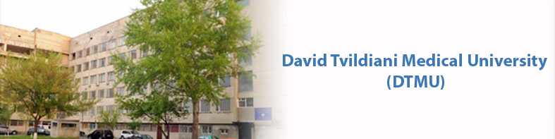 David Tvildiani Medical Univeristy banner