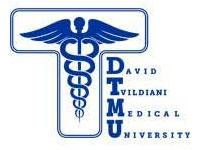 David Tvildiani Medical Univeristy logo