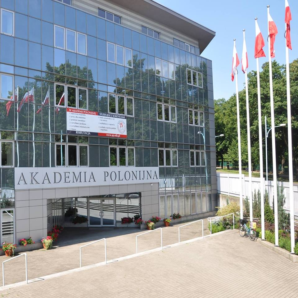 Polonia University in Czestochowa banner
