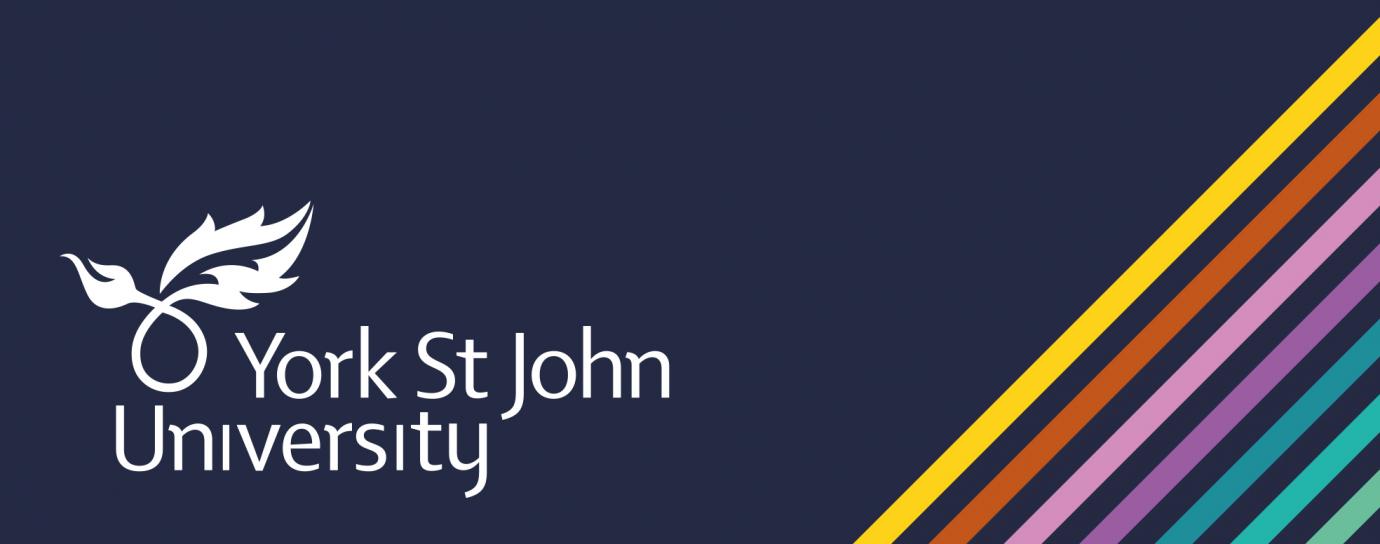 York St John University banner