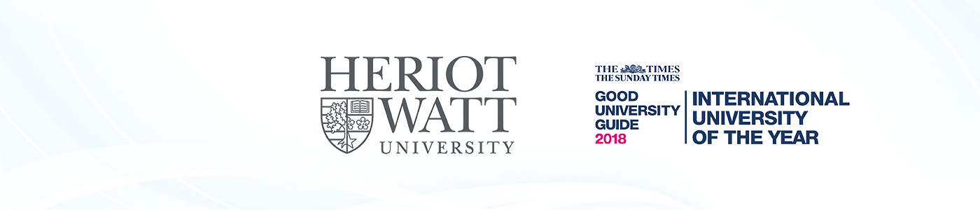 Heriot-Watt University Dubai Campus banner