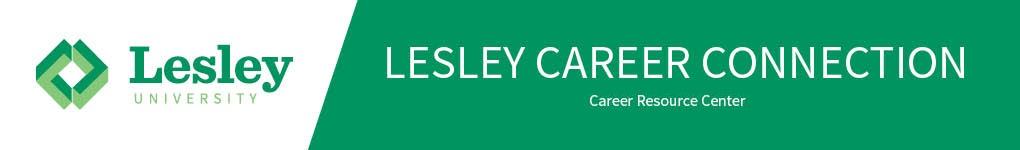 Lesley University banner