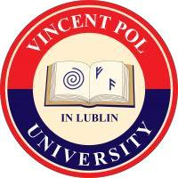 Vincent Pol University in Lublin, Poland logo