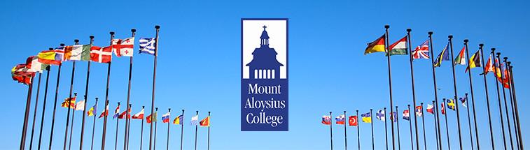 Mount Aloysius College banner