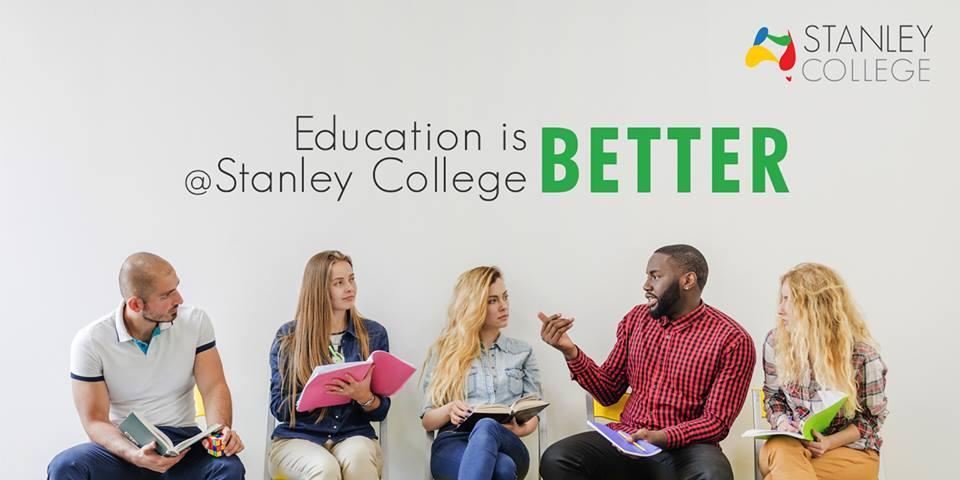 Stanley College banner