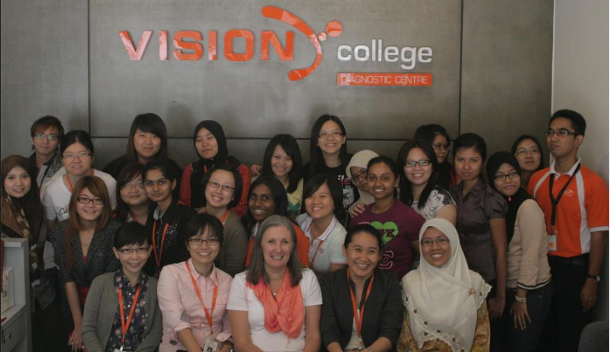 Vision College banner