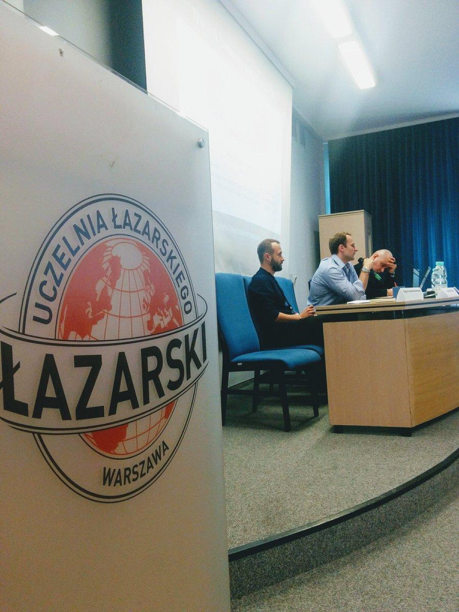 Lazarski University banner