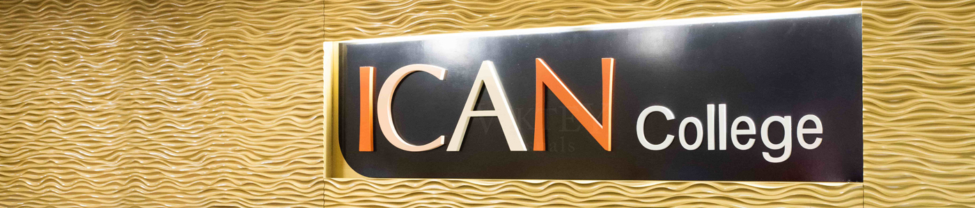 ICAN College banner