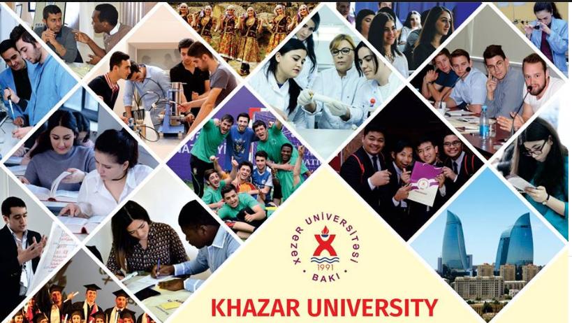 Khazar University banner