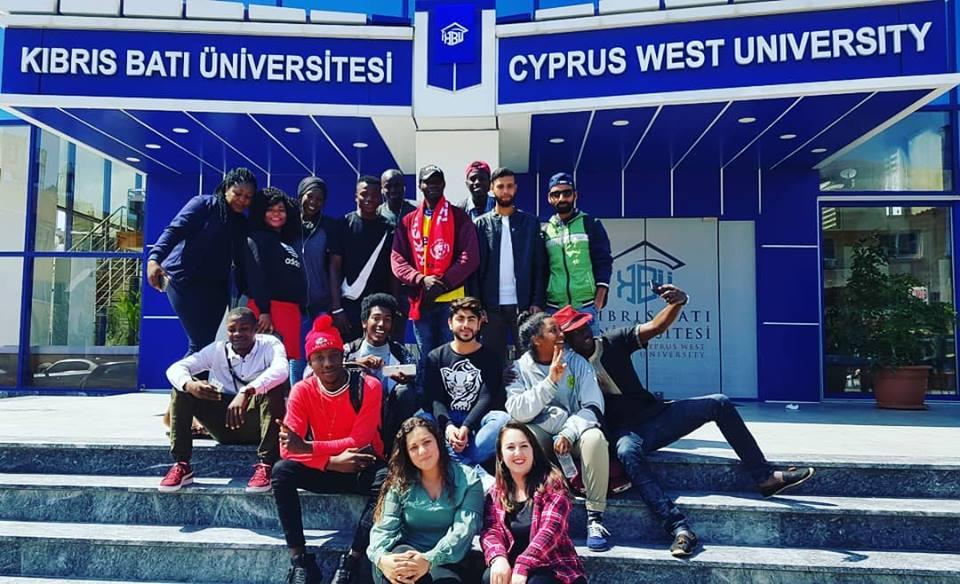 Cyprus West University banner