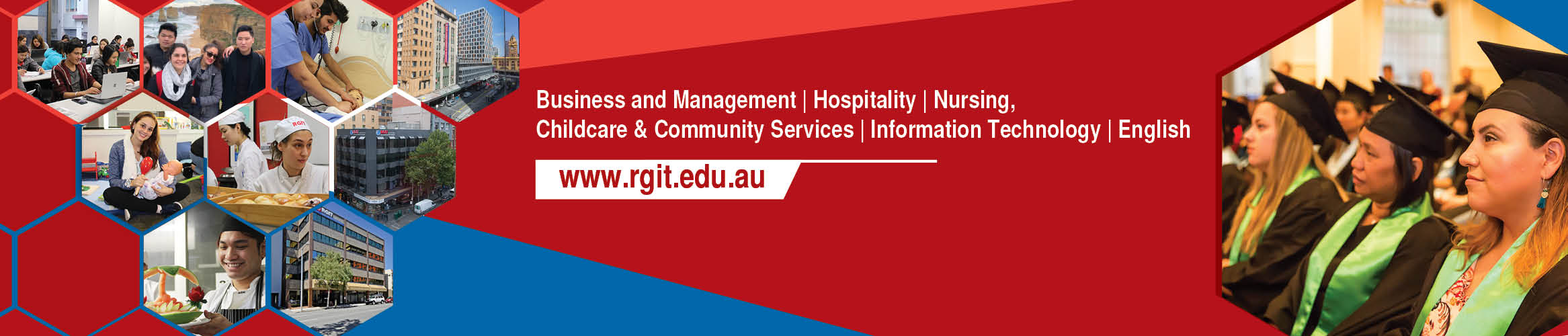 Royal Gurkhas Institute of Technology (RGIT) Australia banner