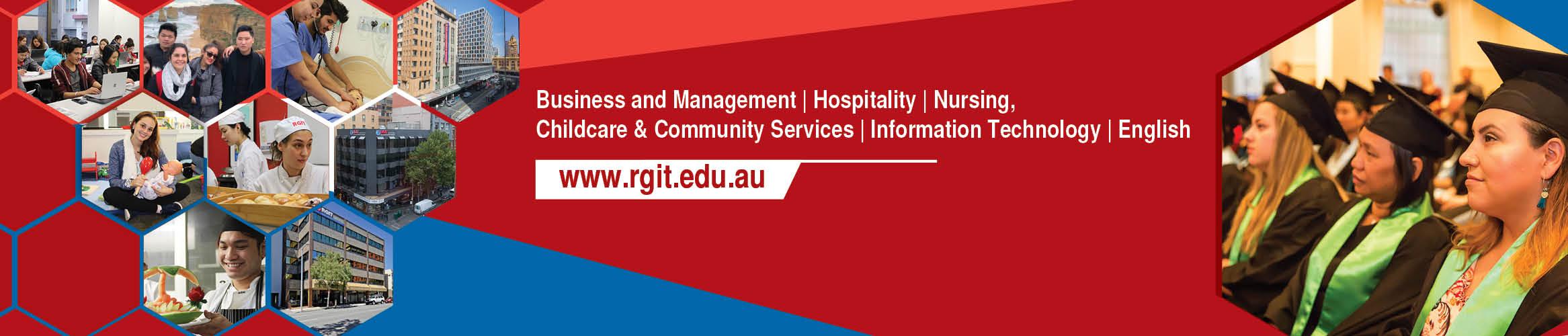 Royal Gurkhas Institute of Technology (RGIT) Australia banner
