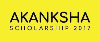 AKANKSHA Scholarship 2017