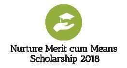 Nurture Merit cum Means Scholarship 2018