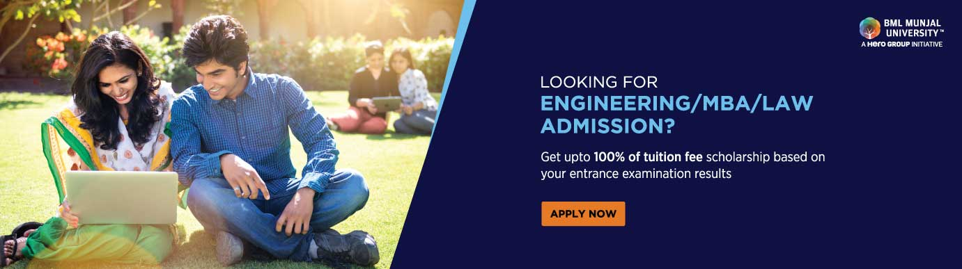 BML Munjal University Scholarship Program