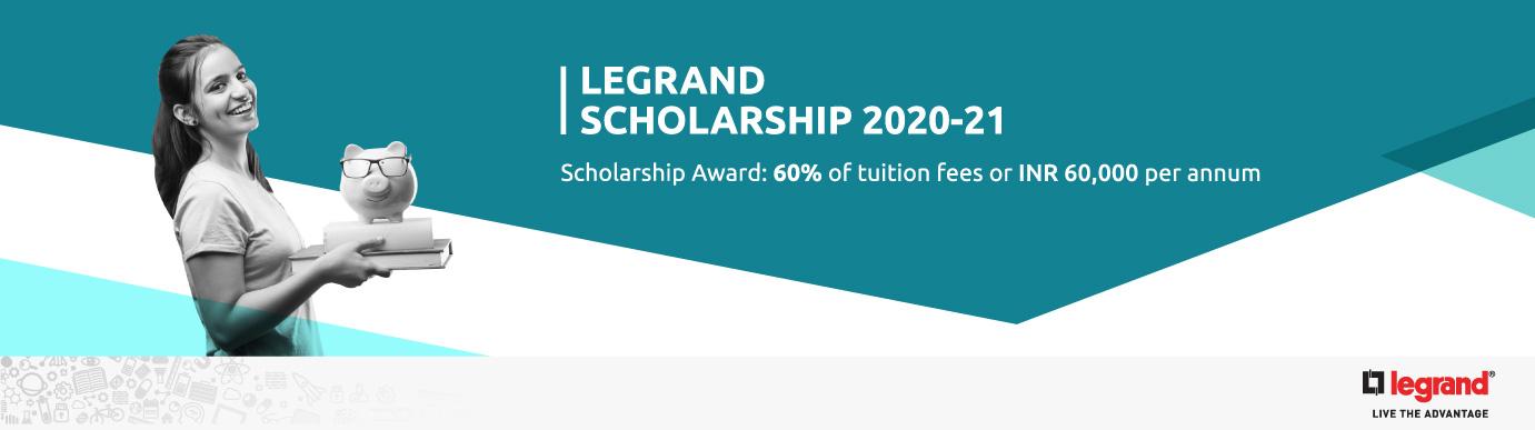 Legrand Scholarship 2020-21