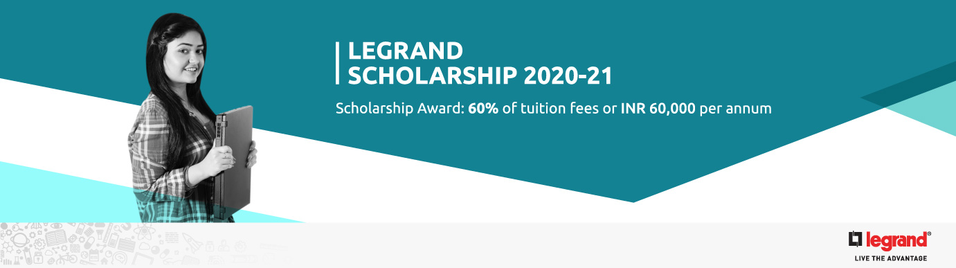Legrand Scholarship Program for Employees' Girl Children 2020