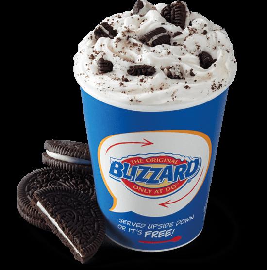 Oreo Blizzard