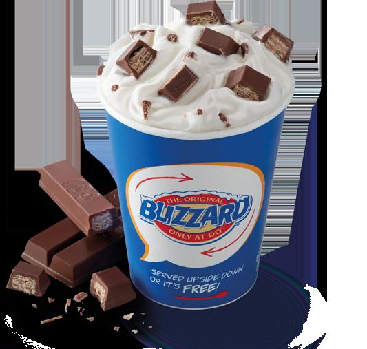 KitKat Blizzard
