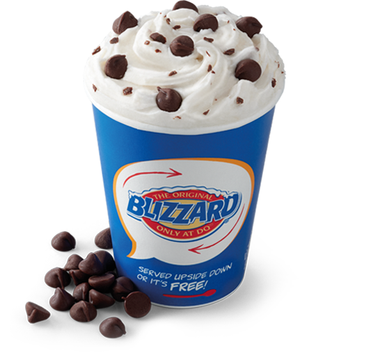 Chocolate Chip Blizzard