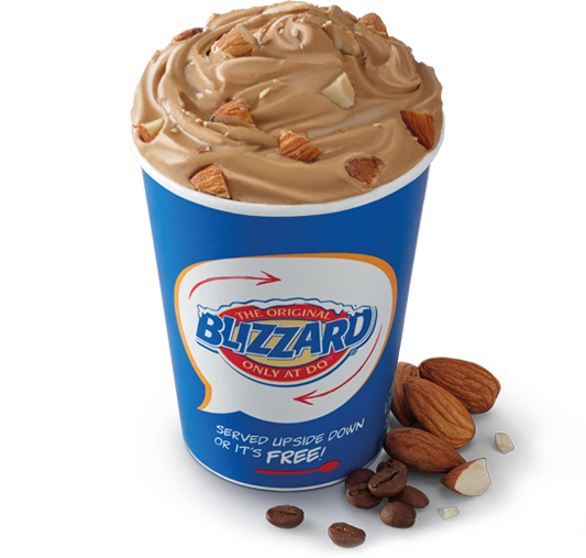 Mocha Almond Fudge Blizzard