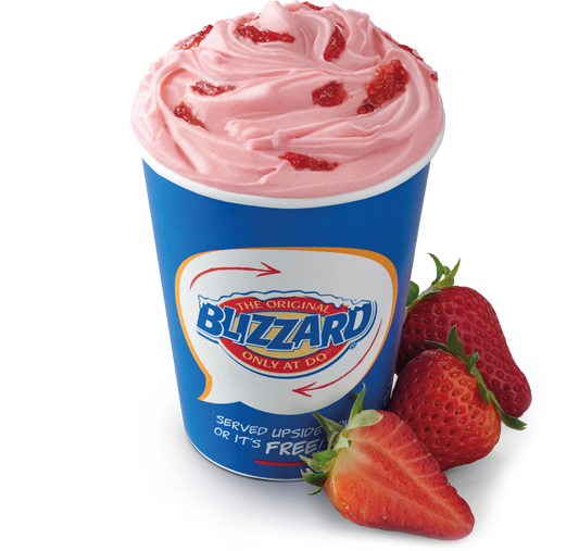 Strawberry Blizzard