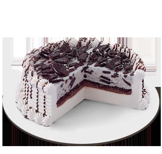 Oreo Blizzard Ice Cream Cake