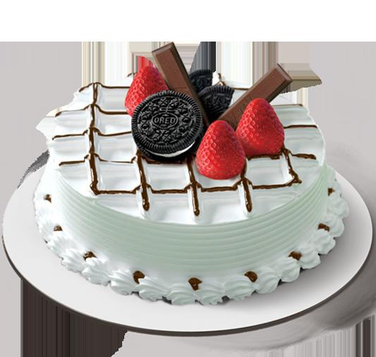 Happy Square Ice Cream Cake