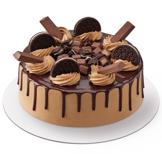 Oreo & KitKat Ice Cream Cake