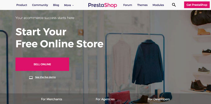 Hire PrestaShop Development Company India