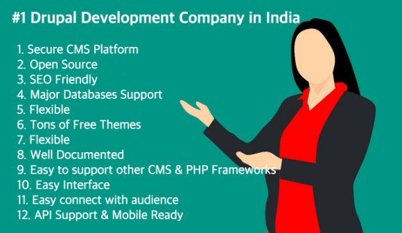 No #1 Drupal Development Company in India