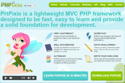 Phpixie PHP Framework