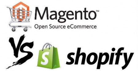 Magento versus shopify ecommerce system