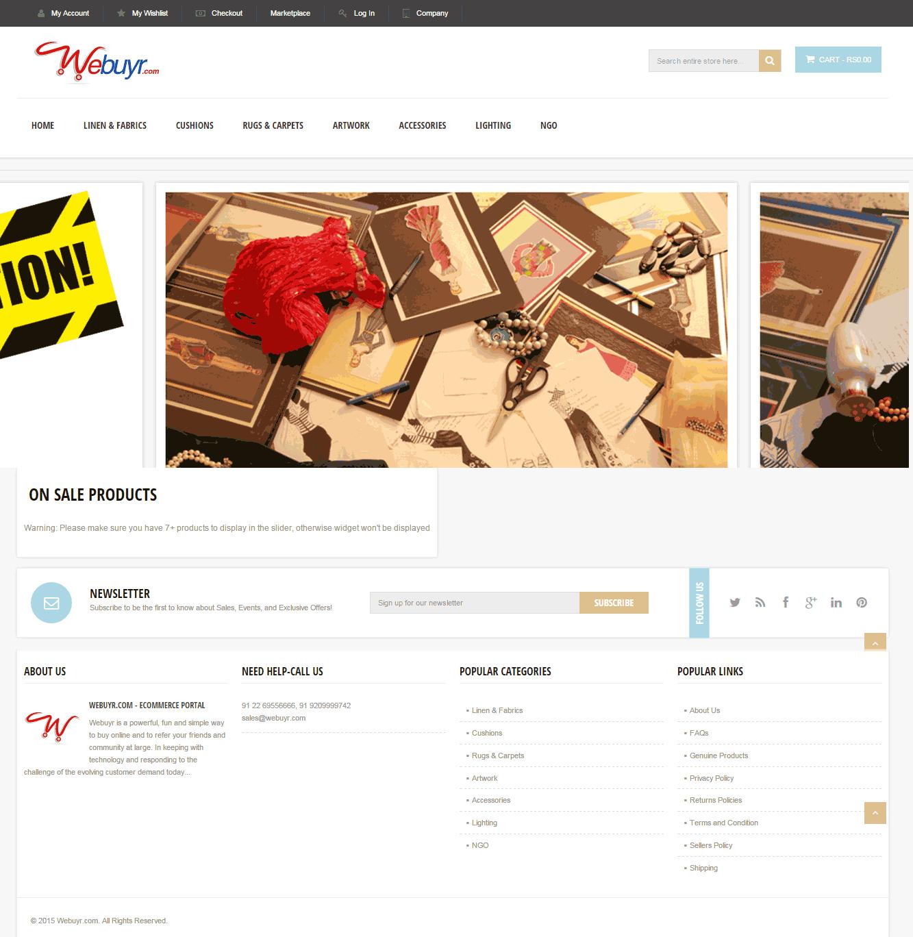 best ecommerce furniture website magento