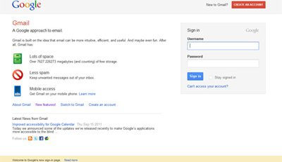 gmail new features - ezeelive
