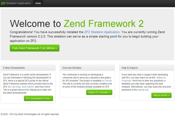 Install Zend Framework in Wamp