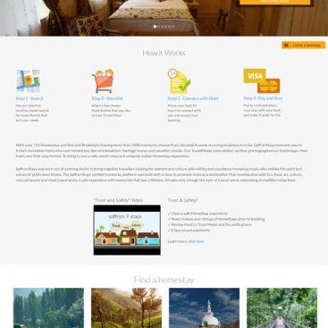 SaffronStays - custom php development india - ezeelive technologies