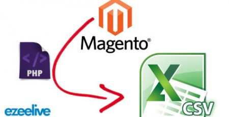 Ezeelive Technologies - Export Magento Database CSV Format Using Custom PHP Code