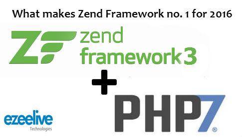 Zend Framework 3 - What makes Zend Framework no  1 for 2016