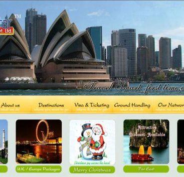 sevenstaraviation - aviation website design india
