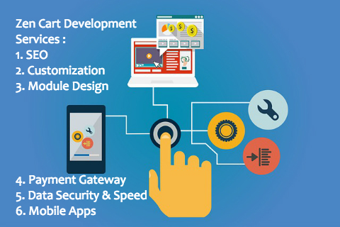 Zen Cart Development Services - Ezeelive Technologies