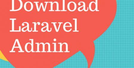 Free Download - Laravel Responsive Admin Panel