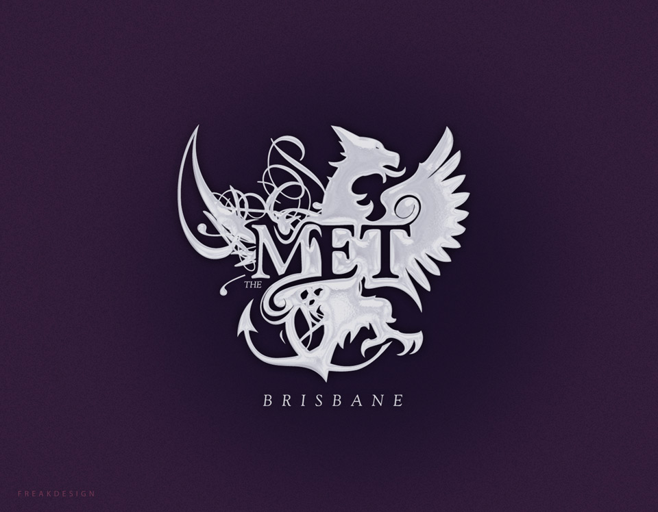 The Met Brisbane branding by Freakdesign