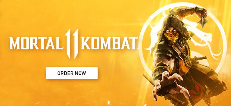 Mortal KOmbat 11 Order Now