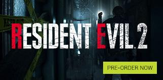 Resident Evil 2 Pre order Now