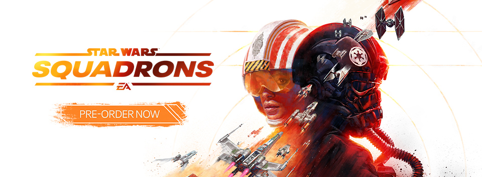Star Wars : Squadrons Pre order Now
