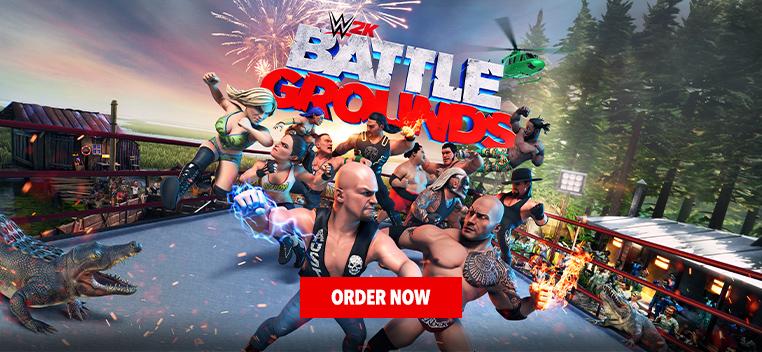 WWe 2K Battlegrounds Order Now
