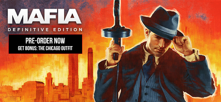 Mafia Definitive Edition Pre order Now